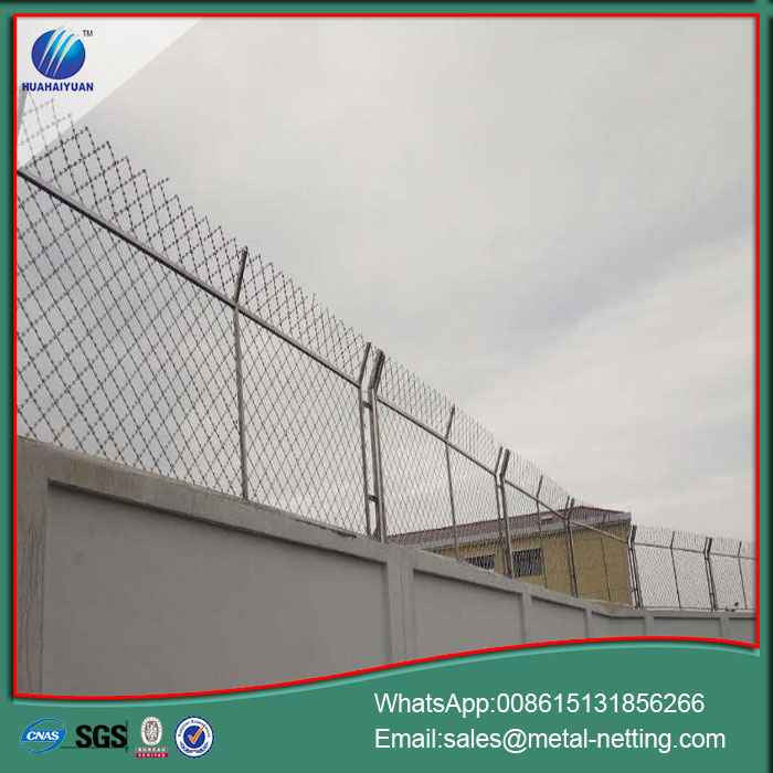 Welded Razor Ribbon Fence