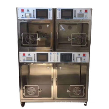 Hospital Intensive Care Unit Veterinary Stainless Animal Oxygen Supply Cage