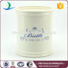 Manufacturer wholesale ceramic types of waste bin