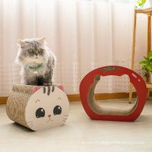 Planche à gratter combinée pour chat Résistant à l'abrasion pour chat