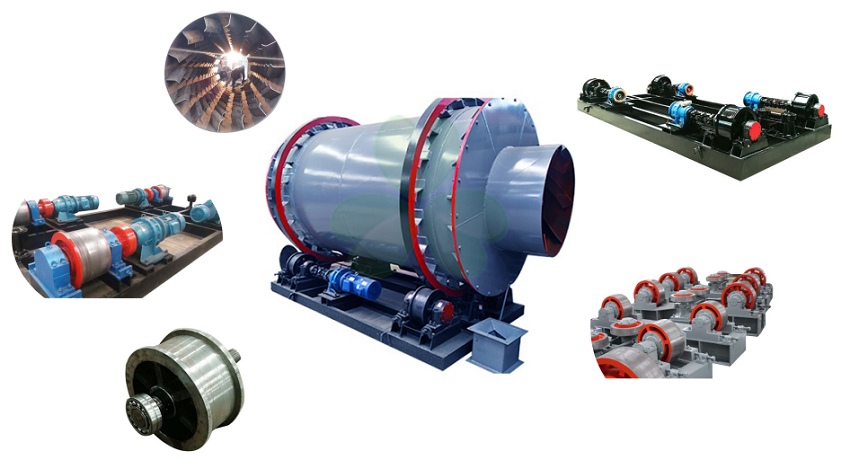 Mineral drying equipment