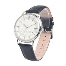 Top Brand Simple Fashion Women Men Unisex Leather Watch