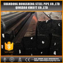 Tubo de acero cuadrado recocido negro Q195-Q235