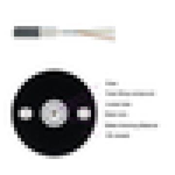 Поставка фабрики Оптический кабель для оптоволоконного кабеля Однорежимные объявления 12,24, 48, 72, 96, 144 Основной оптоволоконный кабель FTTH / FTTX, оптоволоконный кабель GYXY