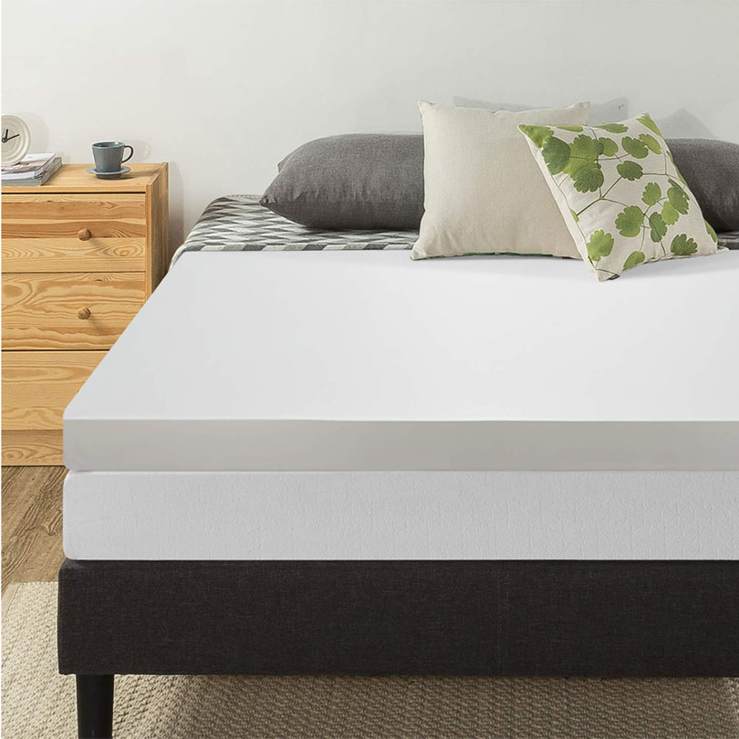 twin xl memory foam topper
