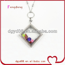316l stainless steel floating charms locket wholesale in china