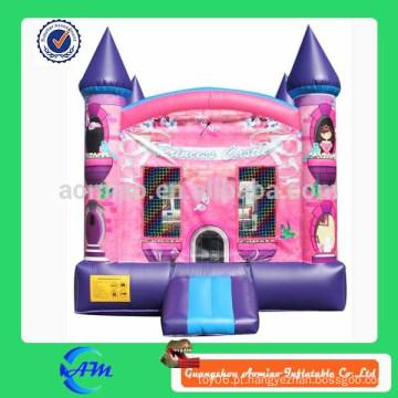 Castelo de princesa de alta qualidade inflável bouncy castelo saltar casa