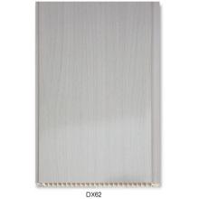 Серый ПВХ деревянная панель (DX62)
