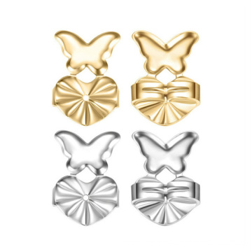 New Fashion Love Heart Crown Adjustable Ear Clip Plug Earplugs Earring Aid Buckle Lifter