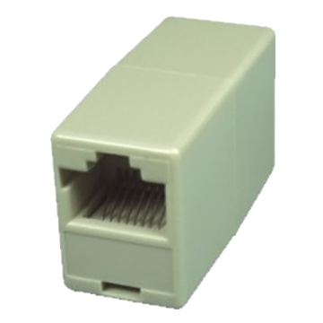 CAT5E coupler keystone Jack body pendek