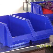 Cubo de almacenamiento plástico industrial de alta calidad para Warehouse