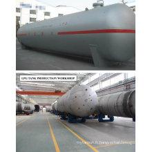 128m3 Réservoirs de stockage pour le stockage du gaz liquide de propane (GLP)