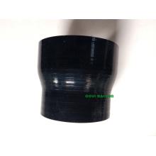 Schwarz Silikon Reducer Schlauch Schlauch 63-76mm 2,5 '' - 3 '' Neck Universal Turbo