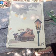 Fábrica de fornecimento A4 Kraftpaper Hardcover Notebook