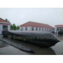 D=1m, L=13m ISO 9001 Inflatable Marine Ship Launching Rubber Airbag
