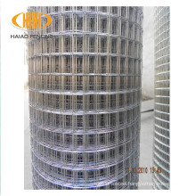 Cheap galvanized and PVC coated welded metal building wire mesh 19 gauge galvanized welded wire mesh