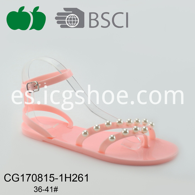 new jelly pvc sandals