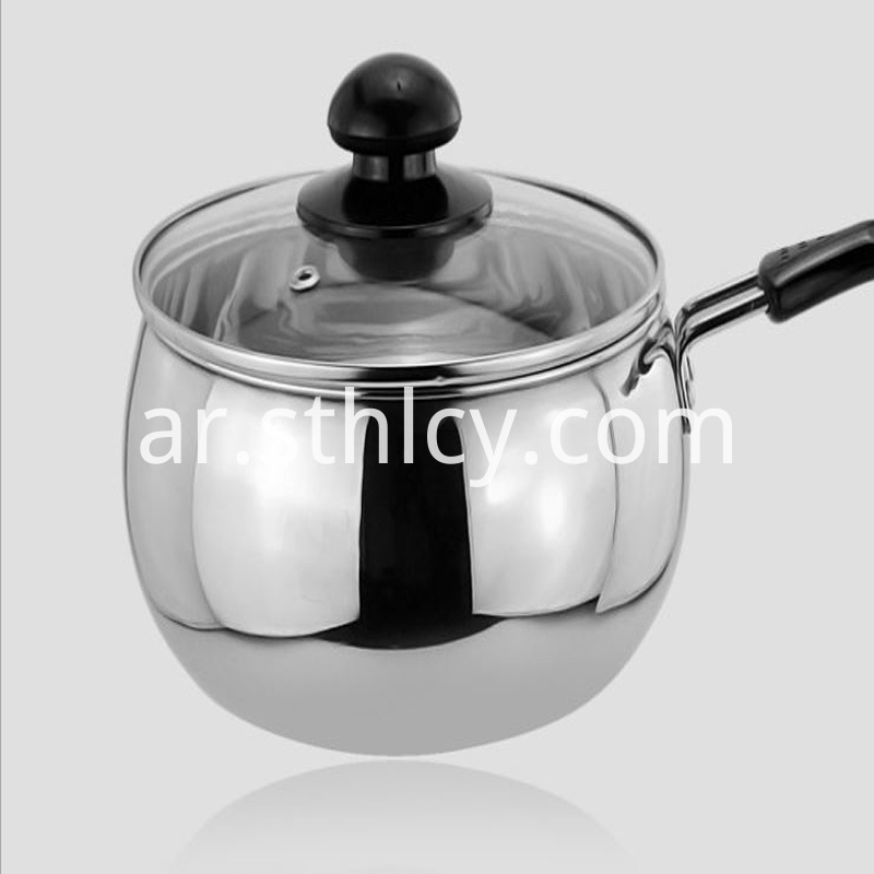Food Grade Stainless Steel Milk Pan