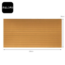 Melors EVA Double Color Garten-Teak-Schaumplatte
