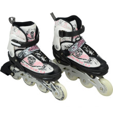 CE Test PU Wheels Inline Skate Shoes