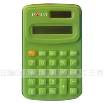 8-stellig Dual Power Handrechner misst 104 * 67 * 11mm (LC321C)