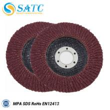 disque de rabat de tissu non-tissé abrasif de couleur différente pour le polissage