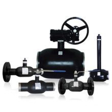 Gas field professional fully welded ball valve dn80 with factory price