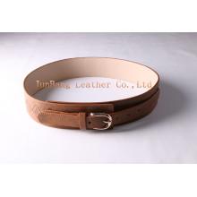 Moda Cintura de cintura larga retro para mulheres