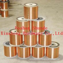 Fio de cobre vermelho 0,75 milímetros à venda