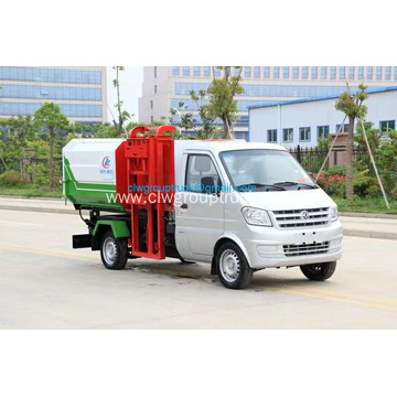 Dongfeng self - loading and unloading garbage truck
