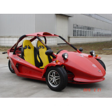 Red Chain Drive Tricycle Motorcycle ATV (KD 250MD2)