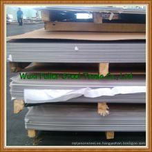 Hoja de acero inoxidable 201/304 / 304L / 316L laminada en frío / en caliente