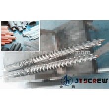 Double Screw & Barrel for PVC Pipe Extruder