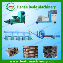 China melhor fornecedor máquina de briquete De Casca de coco que faz varas de carvão vegetal para CHURRASCO 008613253417552
