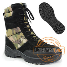 Custom Camouflage Men Military Tactical Desert Boots for Tactical Hiking Outdoor Sports Hunting Camping Leather Customized Logo