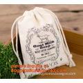 drawstring canvas rice sack organic cotton bread bag, reusable organic cotton fabric bread storage bag, reusable organic cotton