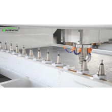 ATC Stone Machining Center for kitchen sink hole cutting,polishing and edge grinding for hot sale