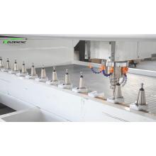 Centro de usinagem de pedra ATC para corte de buraco da pia da cozinha, polimento e moagem de borda para venda quente