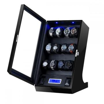 12 Watch Winder Box Cover Akrilik