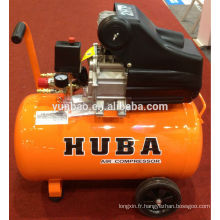 HUBA BAMA compresseur d'air à piston à entraînement direct 2HP / 50L