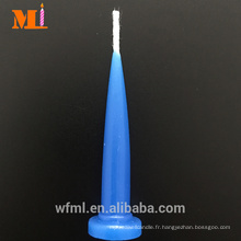 Les bougies royales bleues d'anniversaire de balle d'expédition à l'heure en vrac pour la décoration de gâteau