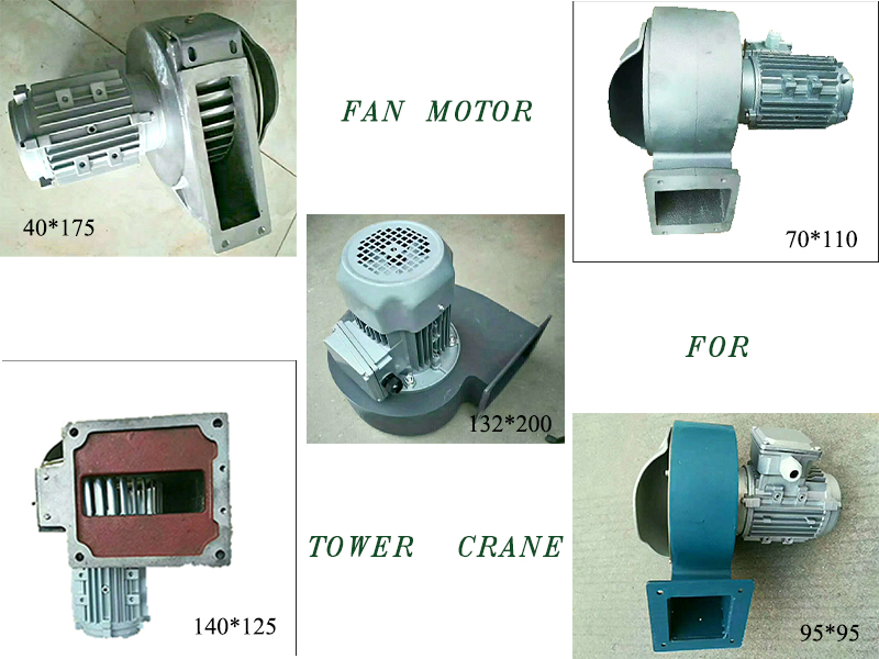 Fan Motor For Tower Crane