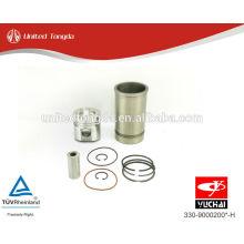 YuChai двигатель YC6108 Поршень, поршневое кольцо, поршневой палец, гильза цилиндра 330-9000200 * -H