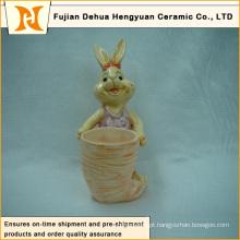 Decoração Cartoon Rabbit Crafts, O Coelhinho da Páscoa
