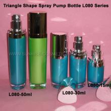 Flacon de 15ml 30ml 50ml Triangle forme pompe Spray