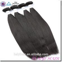 Cabello virginal humano no procesado de alta calidad Cabello grande virginal alineado 12A del pelo de la Virgen del pelo alineado