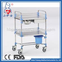 iron hot sale medical emergency trolley