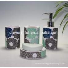 High quality wholesale ceramic bathroom set
