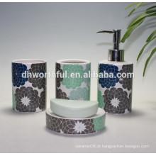 Alta qualidade atacado cerâmica conjunto de banho