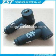 Los nuevos productos 4.2 Un cargador del coche del USB de 2 puertos para el teléfono elegante